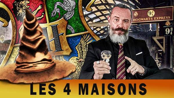 Les 4 maisons de Harry Potter:  symboles et psychologie